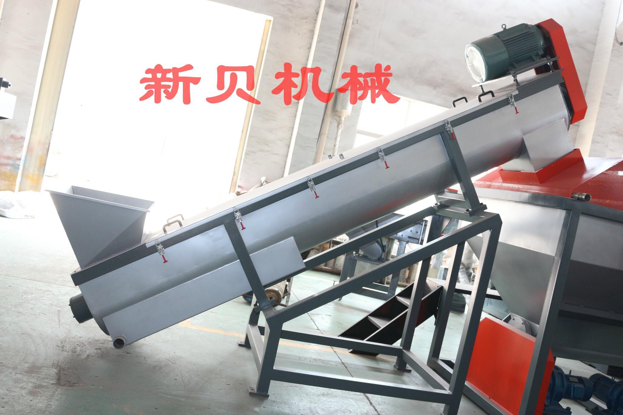 供应新贝机械高产能PE/PP清洗线    4