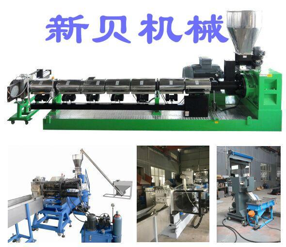 供應新貝機械噸包袋高效單螺杆造粒生產線 1