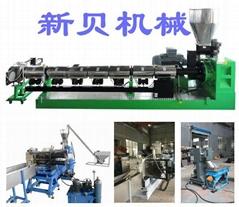 供應新貝機械噸包袋高效單螺杆造粒生產線