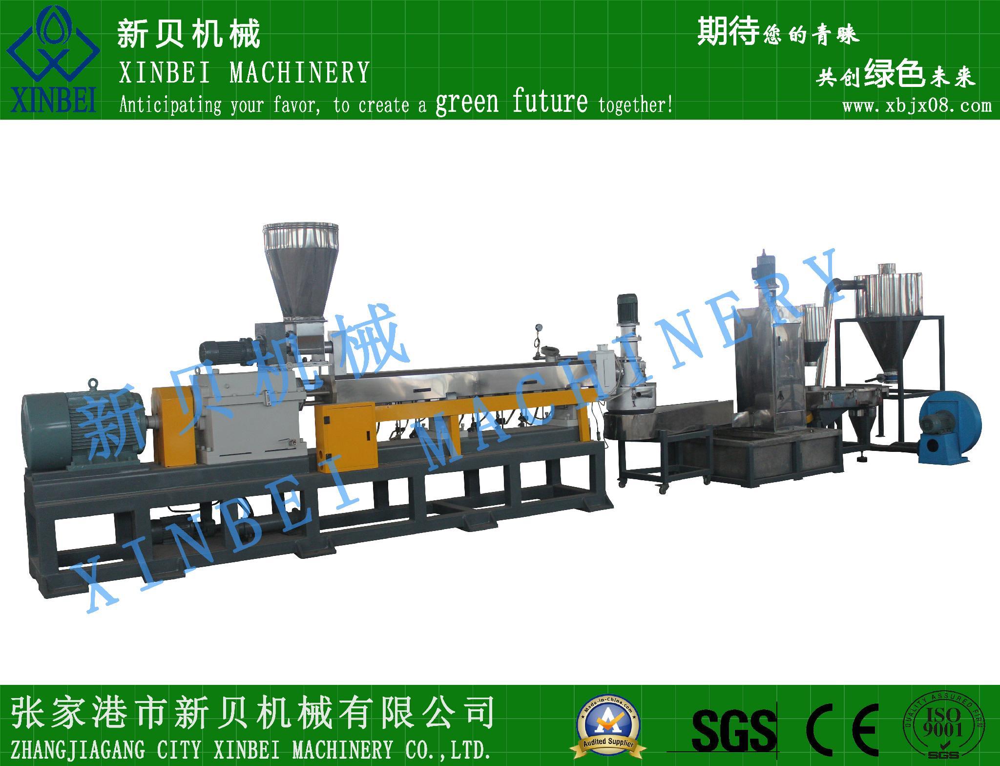 供應新貝機械噸包袋高效單螺杆造粒生產線 5