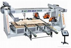 double end cutting saw for door