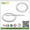 22W 2100lm circular led tube lamps