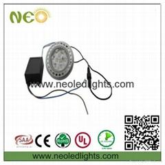 Dimmable 11W LED AR111 Spotlight led ceiling light, led light downlight