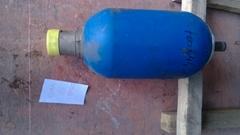 METSO hydraulic accumulator, nitrogen accumulator