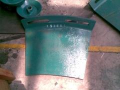 Metso cheek plate, frame plate, counterweight plate
