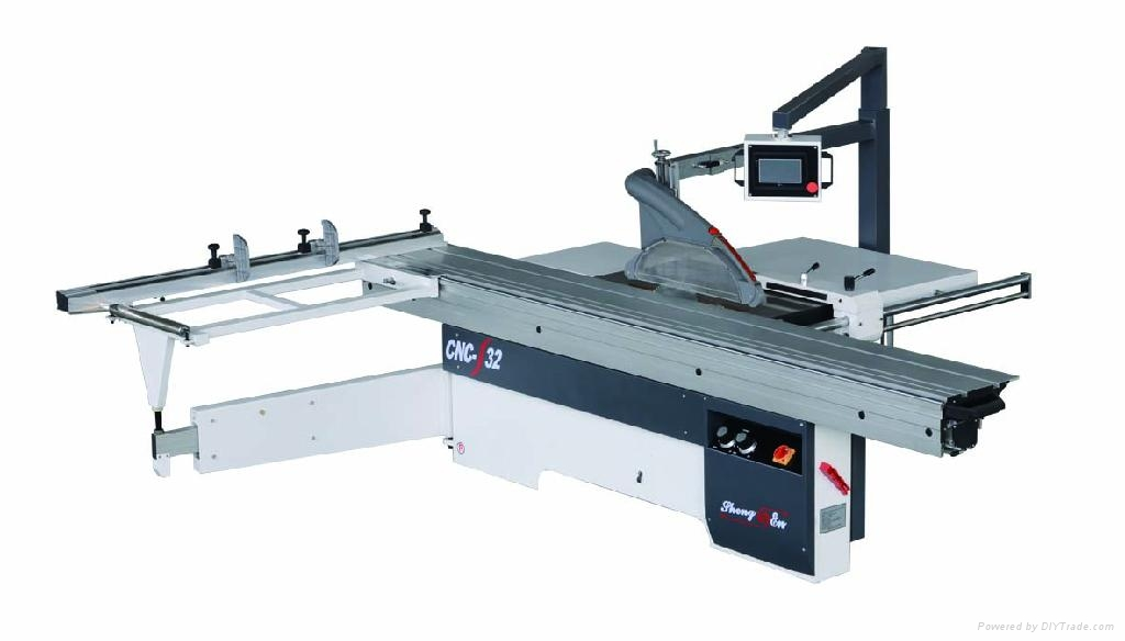 Wood Cutting Automatic Sliding Table Saw Cnc Panel Saw