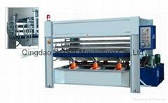 wood hydraulic hot press machine