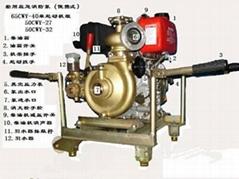 65CWY-40便攜式船用柴油機應急消防泵