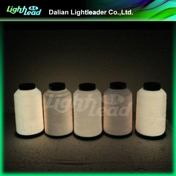 Fluorescent Phosphor embroidery or sewing thread 4