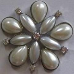 Pearl flower embellishme