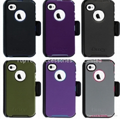 iphone 4 4s otterbox defender case+box-factory offer