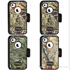 iphone4.4s otterbox defender camo case+box-factory offer