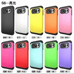 hiqh quality samsung s6 edge armor case hard case-factory offer