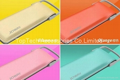 High quality Joway power bank charger with fashion leather case 6000MAH -Factory