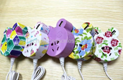 New !!  Mickey Fashion Mobile phone USB charger  USB power strip  USB socket  (Hot Product - 1*)
