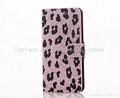 iPhone 6s/6s plus LEOPARD diamond bling case ,iPhone 6s/6s plus flip card case
