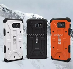 Samsung Galaxy Note 5 Urban Armor Gear UAG Rugged Case Cover +Screen protector