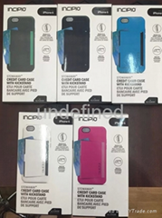 INCIPION Stowaway Credit Card Case For IPhone 6/ 6plus With Kickstand