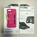 Incipio Stowaway Credit Card ID Kickstand Hard Shell Case for iPhone 7 & 7 Plus