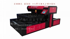 400W单头木板激光刀模切割机