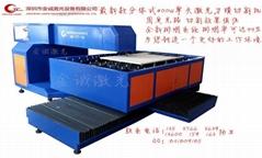最新款分体式400W单头木板激光刀模机