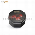 Small Metal Cookie Tin Packaging 4