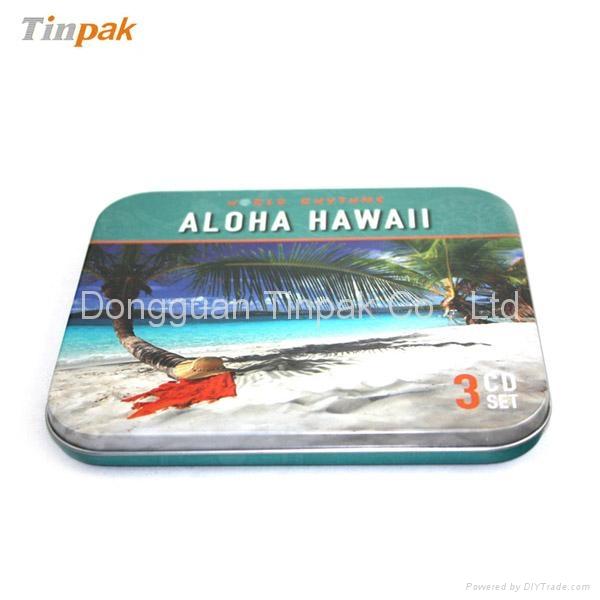 rectangular CD tin cases suppliers 3