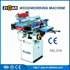 ZICAR Four-in-one Combination Woodworking Machine ML210