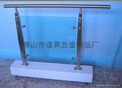 不锈钢玻璃楼梯栏杆