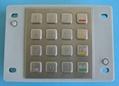 防水加密金属键盘