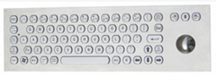 PC軌跡球金屬鍵盤