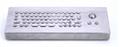 防水防尘PC台式轨迹球金属键盘 2