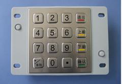 16键数字金属键盘