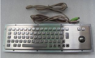 轨迹球金属键盘 3