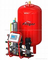 TP型定壓補水真空排氣機組