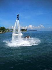 水上飛行器摩托艇噴水飛人