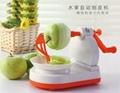 mini apple skiving machine /fruit peeling machines