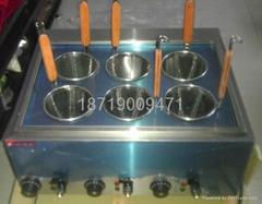 electric 6 hole desktop cooking noodles machine, cookware