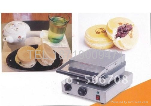 electric layer cake machine/ red cake grill 1