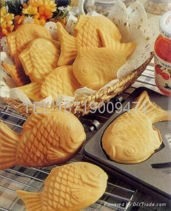 Electric fish cake grill , fish waffle maker, fish cake oven  3