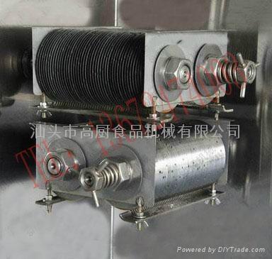 220V/110V立式大型多功能切肉機/切肉絲機/切肉丁機/切肉條 500KG/HR 3