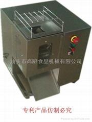 台式切肉条切肉丝机/肉类加工机械设备/切丝切丁2合一