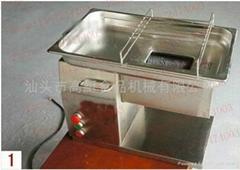 QH desktop type of meat cutting machine. 500KG/HR meat chopper , large-tonnage