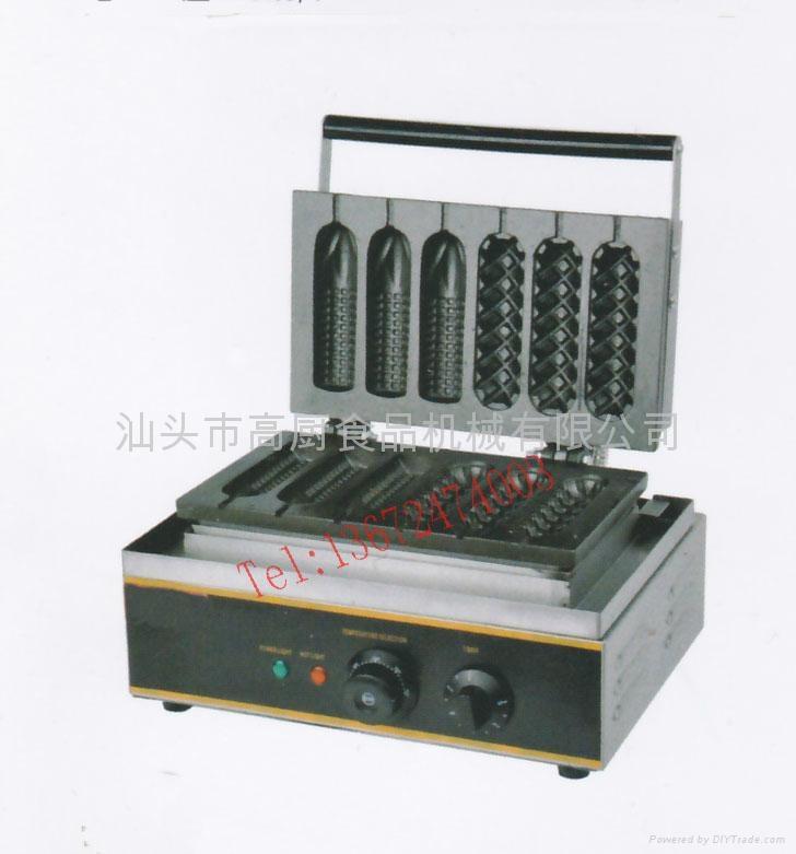 220V or 110V Corn mould of hot dog grill/ Corn oven/ hot dog lolly waffle maker/ 1