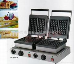 雙頭電熱方形華夫爐 / 商用雙頭華夫機
