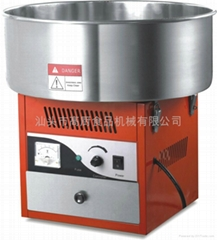 Automatic cotton candy machine / table spun sugar processor