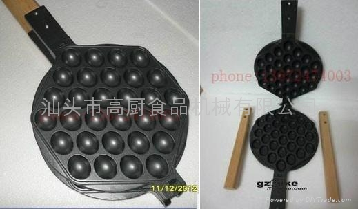 Gas type Non-stick waffle iron Commercial egg waffle maker, Eggettes 2