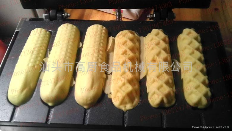 Mixed sausage maker/ hot gog lolly waffle maker/ Corn mould of hot dog grill 1