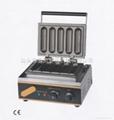 HOT 220v/ 110V hot dog machine,/ French sausage maker/Lolly Waffle maker