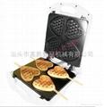 4 pcs heart-shaped waffle pan/ waffel